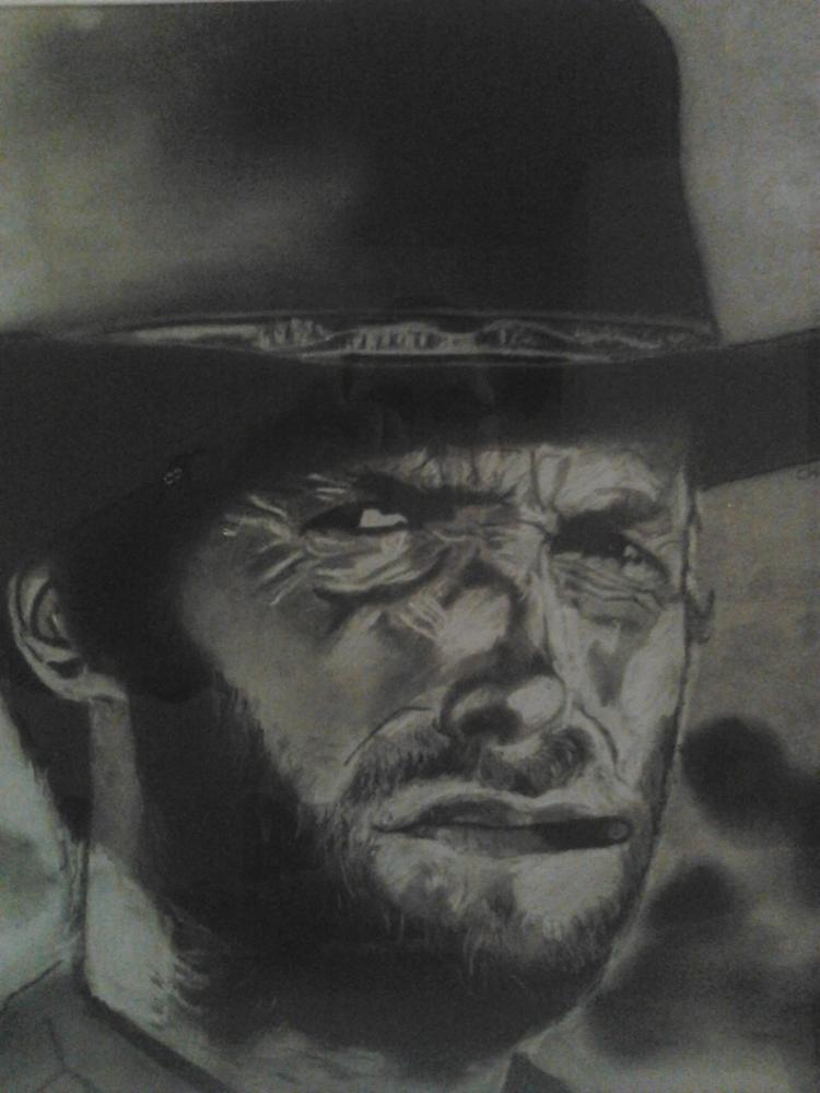 Clint Eastwood by Davidou42